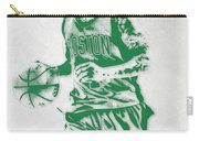 Isaiah Thomas Boston Celtics Pixel Art Carry-all Pouch
