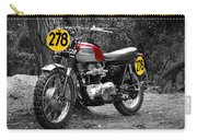 Isdt Triumph Steve Mcqueen Carry-all Pouch
