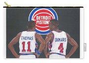 Isiah Thomas And Joe Dumars Carry-all Pouch