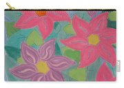 Island Flowers Carry-all Pouch
