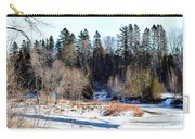 Island In The Madawaska Carry-all Pouch