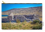 Island Of Krk Old Stone Ruins Carry-all Pouch