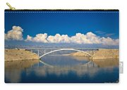 Island Of Pag Bridge And Velebit Mountain Carry-all Pouch
