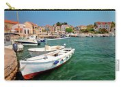 Island Of Prvic Turquoise Harbor And Waterfront View In Sepurine Carry-all Pouch