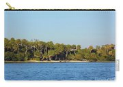 Island Off Of Cedar Key Carry-all Pouch
