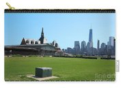 Island Park Elise Museaum Of American Immigration Journey Trip To Newyork Travel Zone America Photog Carry-all Pouch