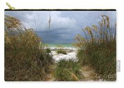 Island Trail Out To The Beach Carry-all Pouch