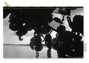 Island - View -  Black And White Carry-all Pouch