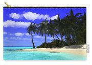Island With Palm Trees Carry-all Pouch