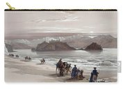 Isle Of Graia Gulf Of Akabah Arabia Petraea Feby 27th 1839 Carry-all Pouch