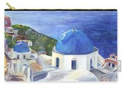 Isle Of Santorini Thiara  In Greece Carry-all Pouch