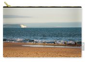 Isle Of Wight As Seen From Bournemouth Beach Carry-all Pouch
