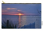 Isle Of Wight Bay Sunset Carry-all Pouch