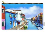 Isola Di Burano Carry-all Pouch