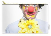 Isolated Clown In A Funny Summer Romance Carry-all Pouch