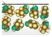 Isovaleric Acid Molecular Models Carry-all Pouch