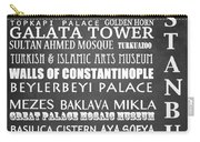Istanbul Famous Landmarks Carry-all Pouch