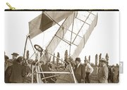 It Was A Good Landing The Pilot Walked Away  Twin Wing Aircraft  Circa 1909 Carry-all Pouch