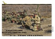 It Wasn't Our Book - Us Army Infantry Carry-all Pouch