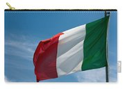 Italian Flag Flying Carry-all Pouch