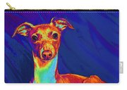 Italian Greyhound  Carry-all Pouch by Jane Schnetlage