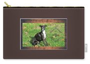 Italian Greyhound Wine Carry-all Pouch