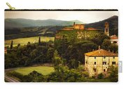 Italian Castle And Landscape Carry-all Pouch by Marilyn Hunt