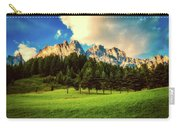 Italian Mountain Meadow Carry-all Pouch