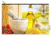Italian Pasta In Country Kitchen Carry-all Pouch