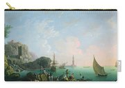 Italian Port Scene  Carry-all Pouch