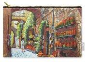 Italian Street Market Carry-all Pouch