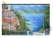 Italian Village By The Sea Carry-all Pouch
