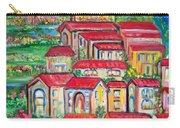 Italian Village On A Hill Carry-all Pouch
