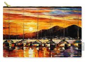Italy - Naples Harbor- Vesuvius Carry-all Pouch