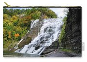 Ithaca Falls Carry-all Pouch by Christina Rollo