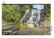 Ithaca Falls In Early Autumn Carry-all Pouch