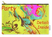 It's A Party Abstract Carry-all Pouch