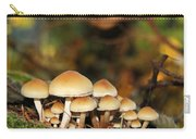 It's A Small World Mushrooms Carry-all Pouch