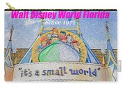 It's A Small World Poster Art Carry-all Pouch