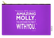 Its Amazing Molly Carry-all Pouch