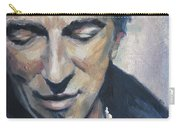 It's Boss Time II - Bruce Springsteen Portrait Carry-all Pouch