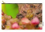 Itsy Bitsy Spider Over Mango  Tree Flowers Carry-all Pouch