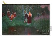 Ivan Kupala. Fortunetelling For Wreaths. Carry-all Pouch
