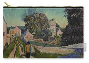 I've Decided To Retrace The Path That Vincent Took With His Easel That Day Carry-all Pouch
