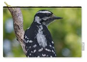 I've Got Your Back - Female Downy Woodpecker Carry-all Pouch