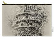Ivy Covered Castle In The Woods Carry-all Pouch