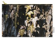 Ivy Leaves Grunge Tone Carry-all Pouch