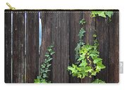 Ivy On Fence Carry-all Pouch