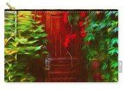 Ivy Surrounded Old Outhouse Carry-all Pouch