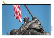 Iwo Jima 1945 - War Memorial, Cape Coral, Florida Carry-all Pouch